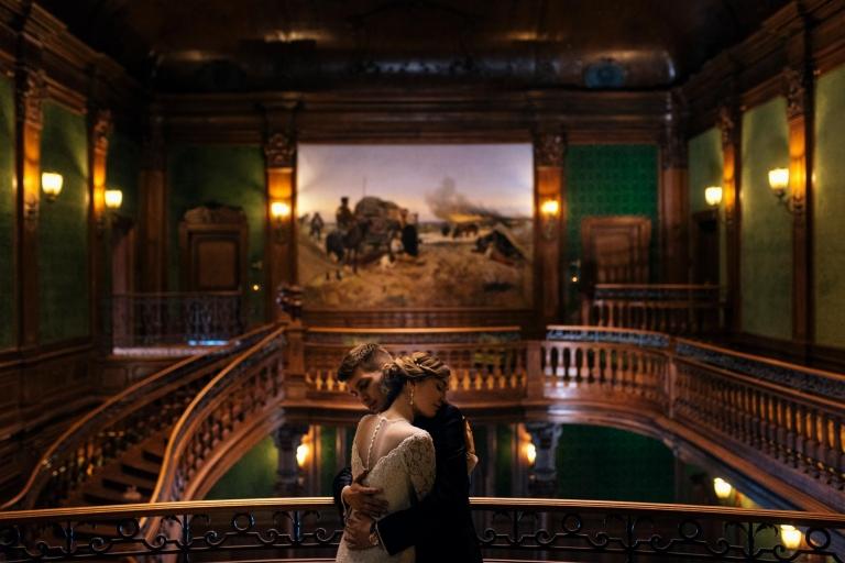 Sesja ślubna Marcina i Małgosi w Pałacu Goetzów