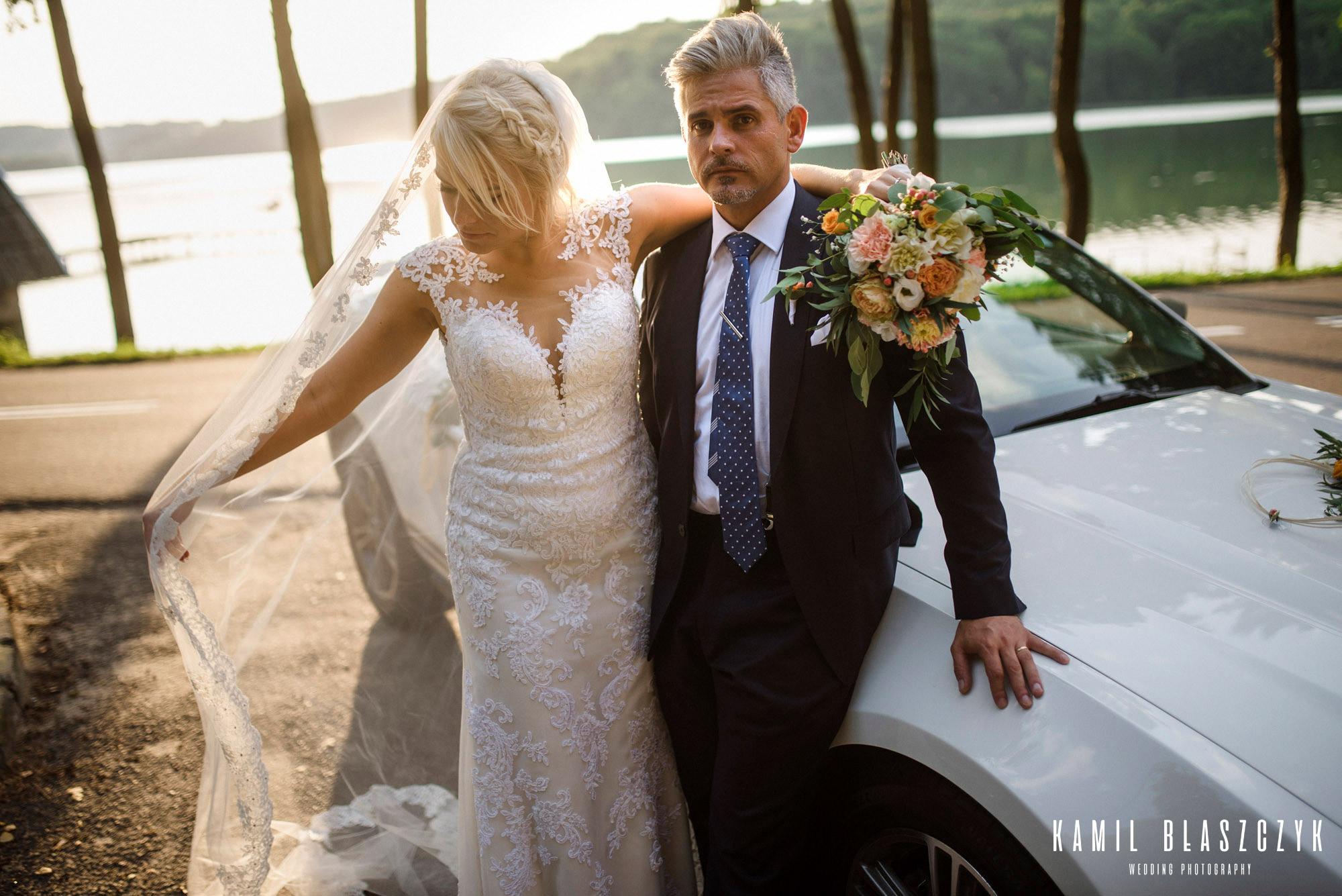 Sesja ślubna Mustang