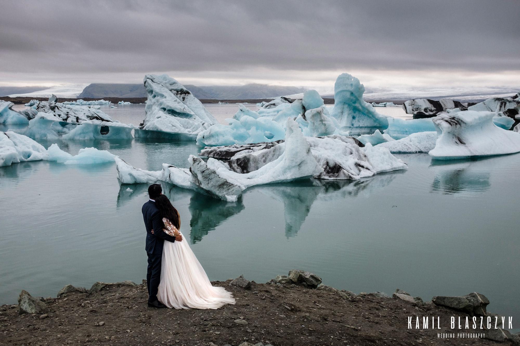 Sesja ślubna na Islandii