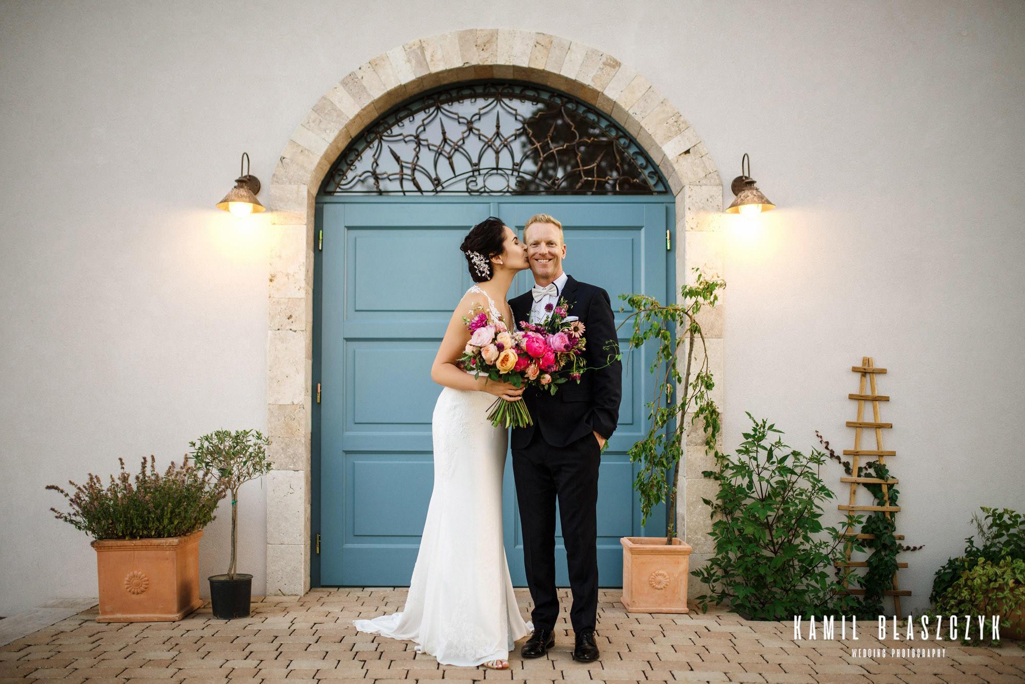 Villa Love - sesja ślubna Agi i Graema