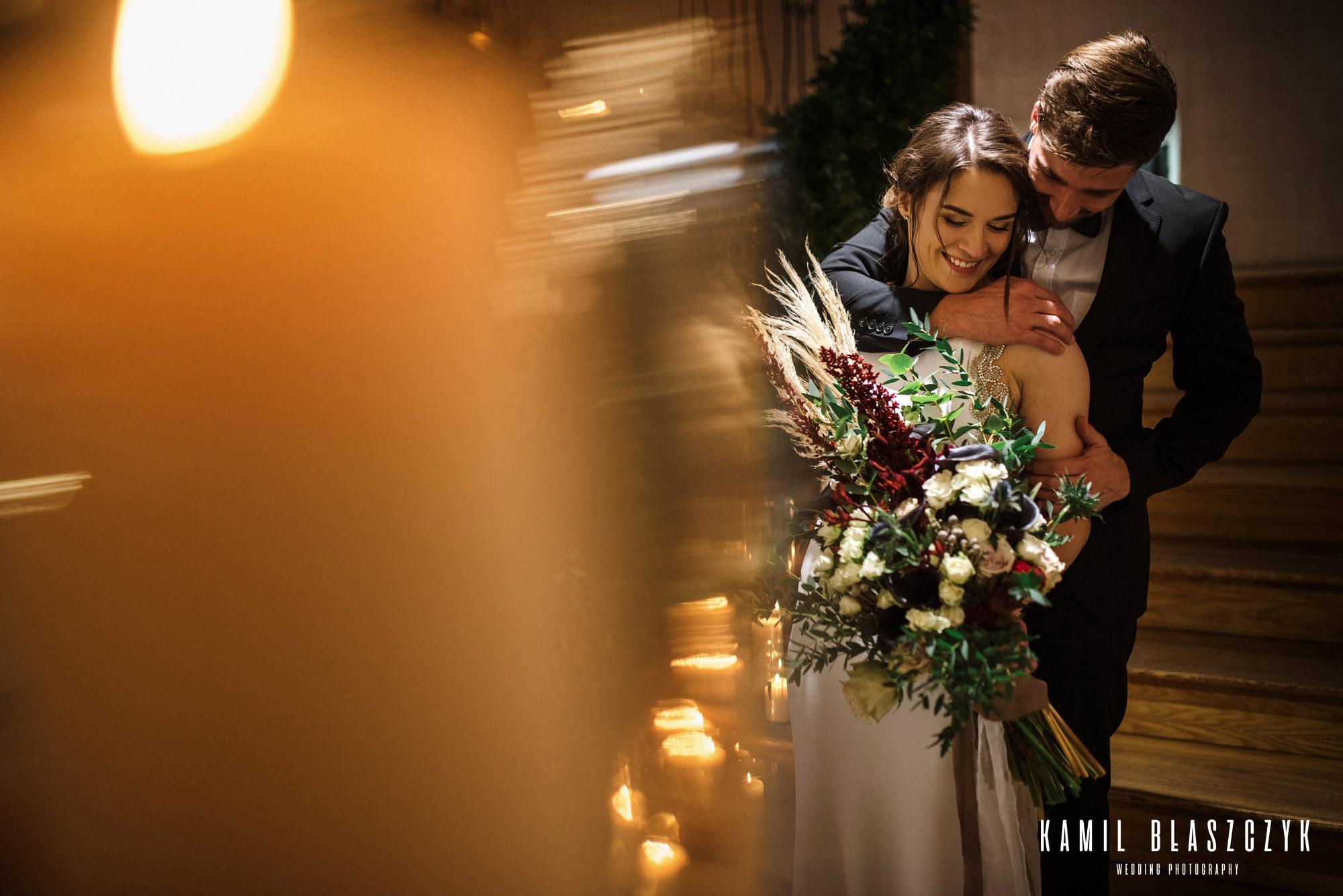 Plener ślubny Moniki i Kobusa w Restauracji Zielona Brama Przywidz