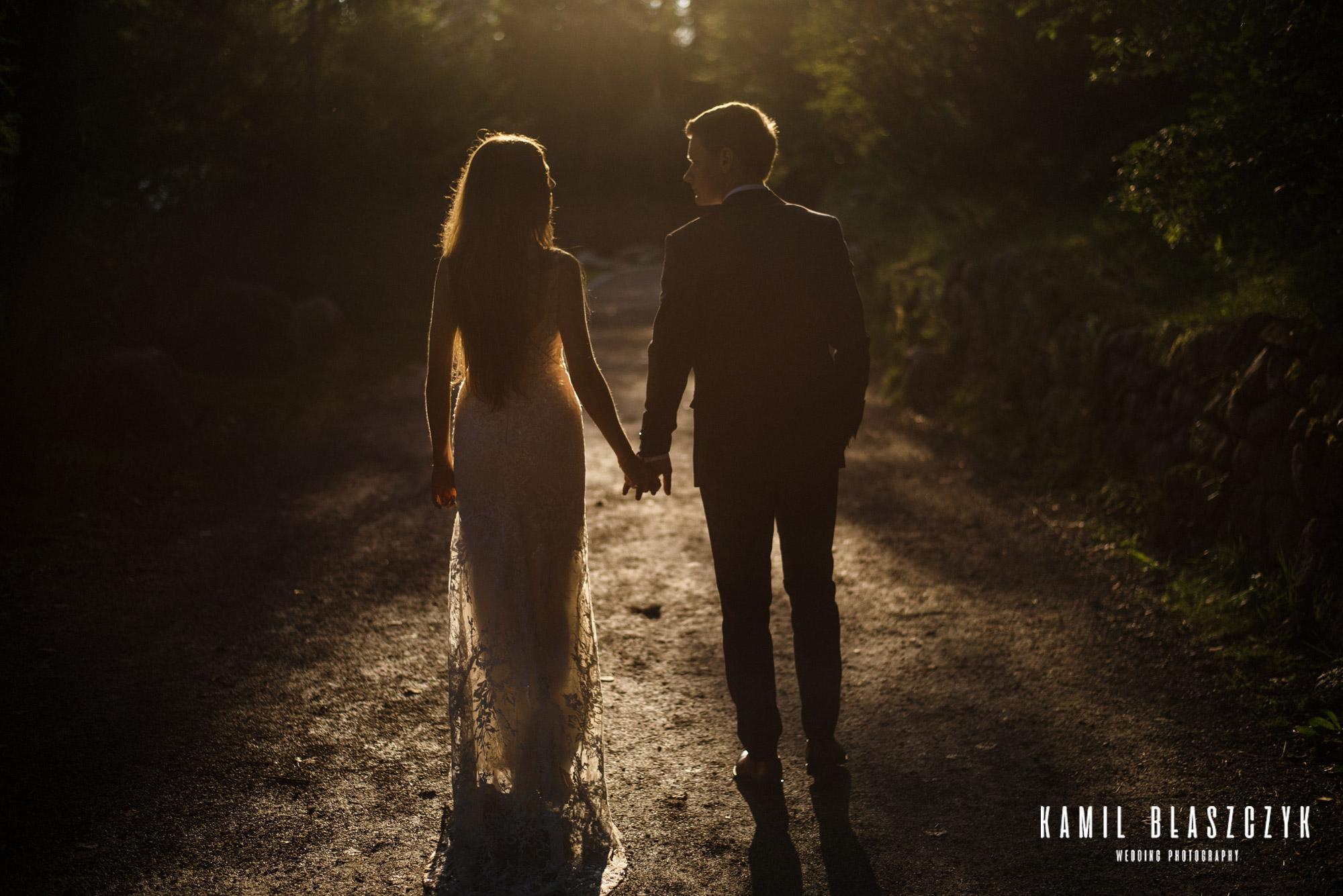 Pytania do fotografa ślubnego - spacer nad jeziorem Szczyrbskim