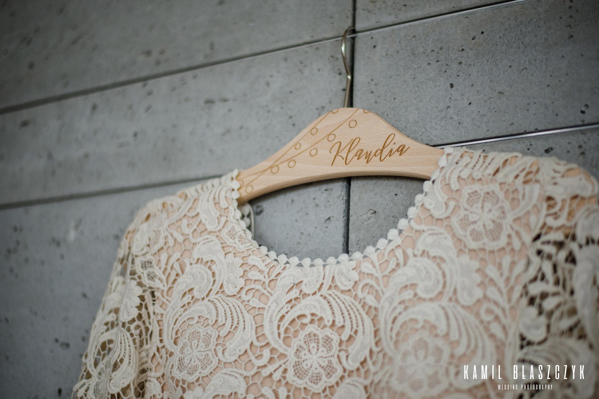 Suknia ślubna Klaudii